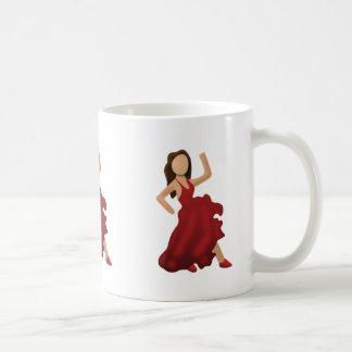 Dancer Emoji Classic White Coffee Mug
