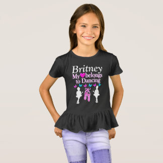 DANCER FOREVER PERSONALIZED T SHIRT