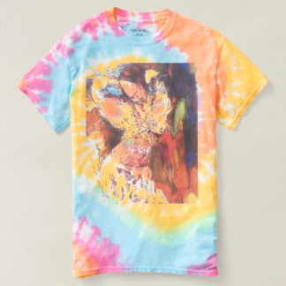 Dancer Girl tie dye t-shirt