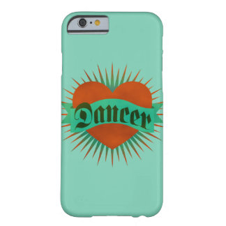 Dancer Grunge Heart Barely There iPhone 6 Case