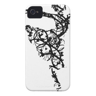dancer hearts2 iPhone 4 case