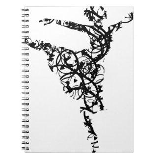 dancer hearts2 notebook