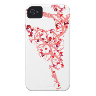 dancer hearts iPhone 4 Case-Mate case
