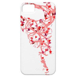 dancer hearts iPhone 5 cases