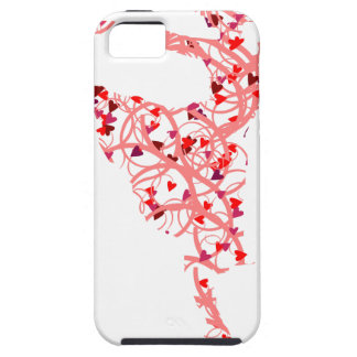 dancer hearts iPhone 5 cover