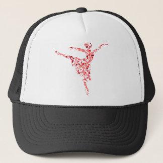 dancer hearts trucker hat