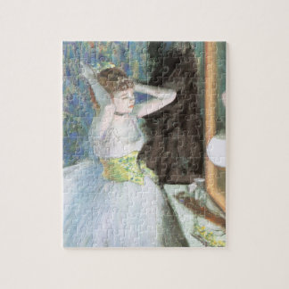 Dancer in Her Dressing Room by Edgar Degas Jigsaw Puzzle