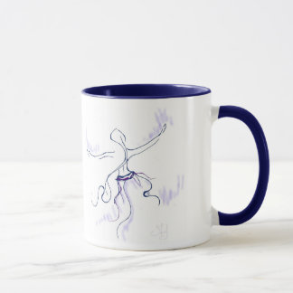Dancer in Purple Mug