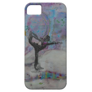Dancer In The Snow Yoga Girl Case For The iPhone 5