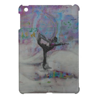Dancer In The Snow Yoga Girl iPad Mini Covers