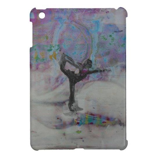 Dancer In The Snow Yoga Girl iPad Mini Covers