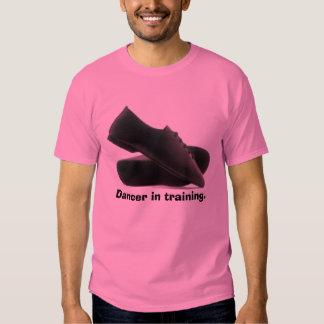 Dancer in training. t shirt