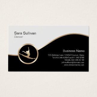 Dancer Jump Icon Dancer Choreographer BusinessCard Business Card