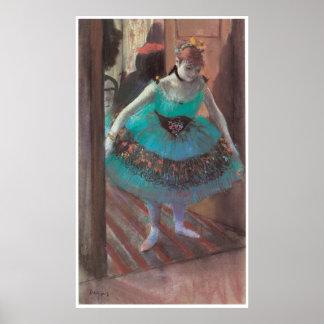 Dancer Leaving Her Dressing Room, Edgar Degas Poster