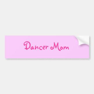 Dancer Mom Bumper Sticker
