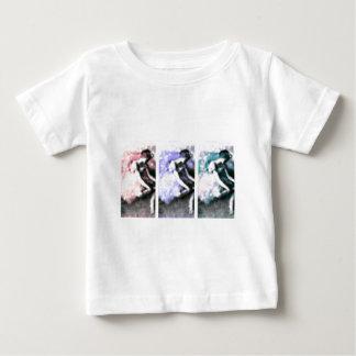 Dancer Pastel Bokeh Panel Art Baby T-Shirt