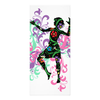 Dancer Rack Card Template