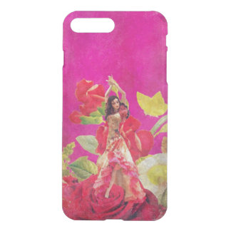 Dancer Rose Flowers Grunge iPhone 7 Plus Case