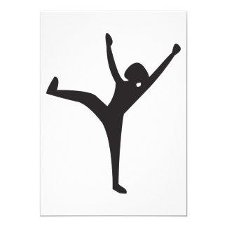 Dancer Silhouette Invitations