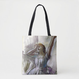 Dancer Stretching by Degas Tote Bag