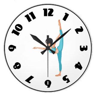 Dancer Stretching Clock