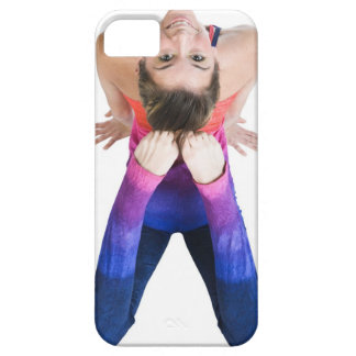 Dancer touching feet to head iPhone 5 cover