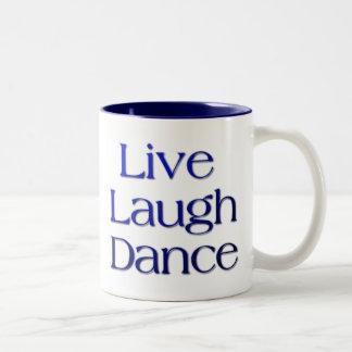 dancer Two-Tone coffee mug