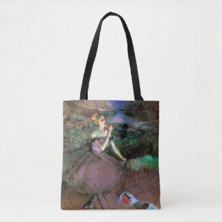 Dancer with Bouquets by Degas Tote Bag