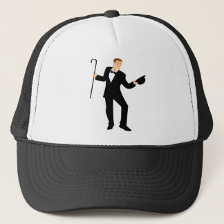 Dancer with Cane Trucker Hat