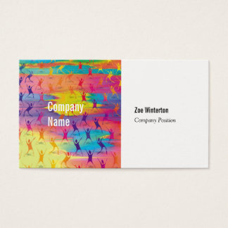 Dancers and Fitness Business Card