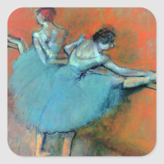 Dancers at the Bar by Degas Square Sticker