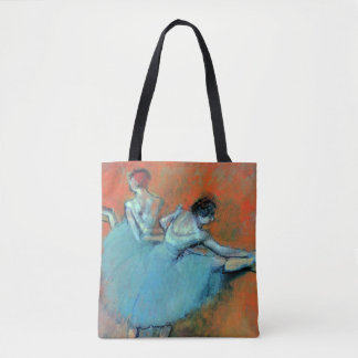 Dancers at the Bar by Degas Tote Bag