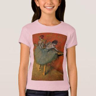 Dancers At The Bar by Edgar Germain Hilaire Degas T-Shirt