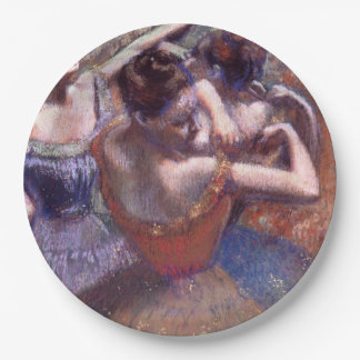 Dancers by Edgar Degas Paper Plate
