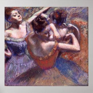 Dancers by Edgar Degas Poster
