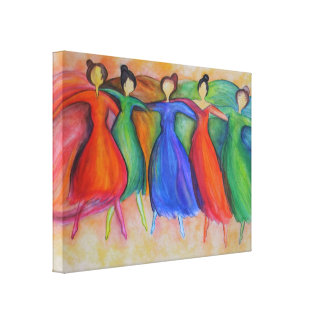 Dancers Canvas