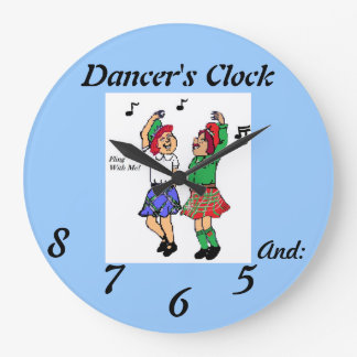 Dancer's Clock And: 5,6,7,8