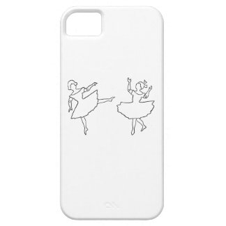 Dancers Cutout Illustration Case For The iPhone 5