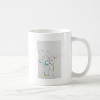 dancers gesture coffee mug