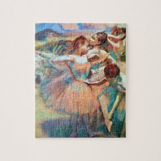 Dancers in a Landscape by Edgar Degas Jigsaw Puzzle