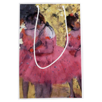 Dancers in Pink Between Scenes Medium Gift Bag