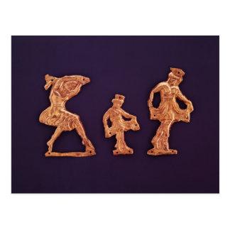 Dancers of goddess Demeter Postcard