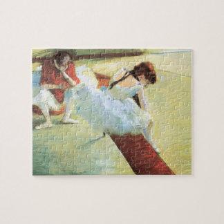 Dancers Resting by Edgar Degas, Vintage Ballet Art Jigsaw Puzzle