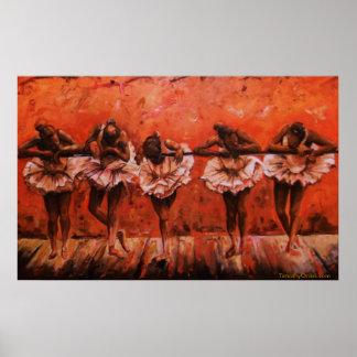Dancers Secret I - Canvas Print