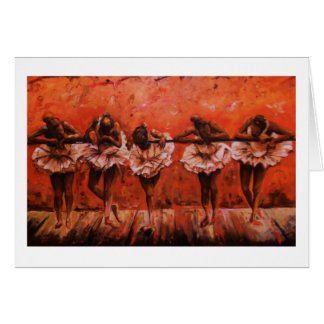 Dancers Secret Note Cards by Timothy Orikri