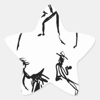 Dancers Star Sticker