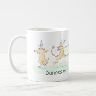 DANCES WITH AFGHAN HOUNDS COFFEE MUG