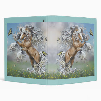 Dances With Butterflies-binder Vinyl Binder