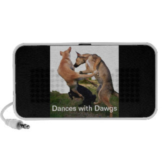 Dances with Dawgs Travel Speakers