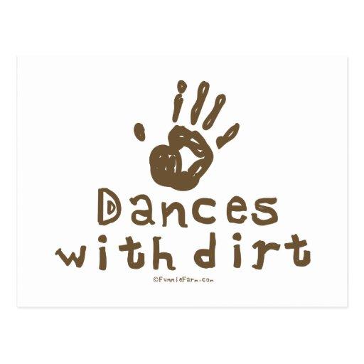 Dances with Dirt Postcards